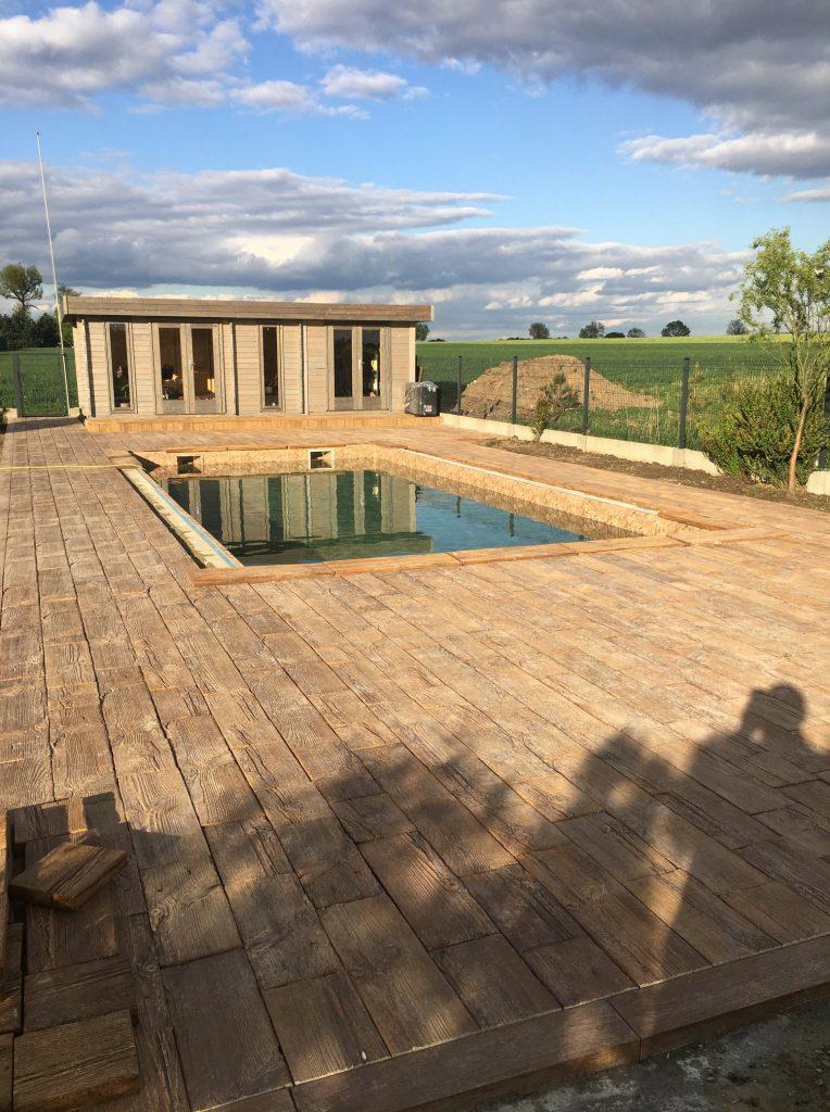 drewno betonowe