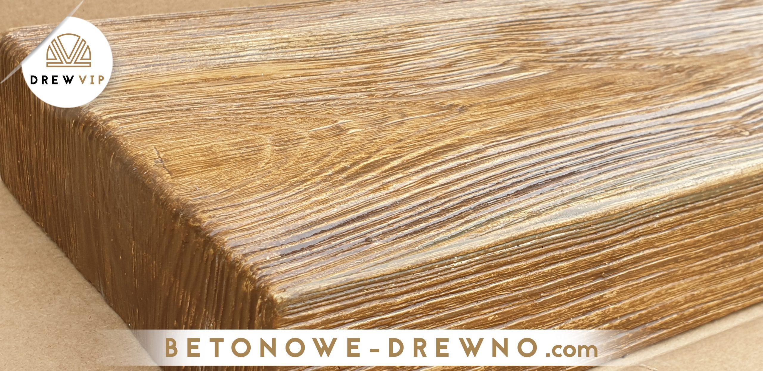 drewno betonowe deski modern
